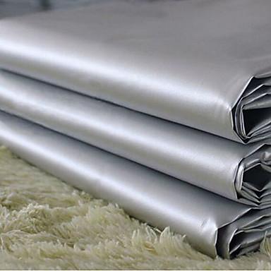 twee panelen klassieke grijze stevige pvc gordijn voering gordijnen ...