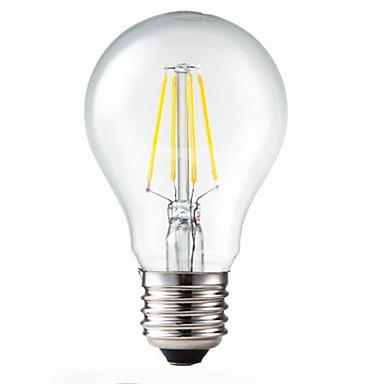 E26/E27 LED Glühlampen G60 4 Leds COB Abblendbar Dekorativ Warmes Weiß 400lm 3200K AC 220-240V