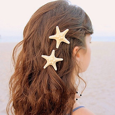 Women's Other Alloy Hair Clip, Cute Party All Seasons Gold