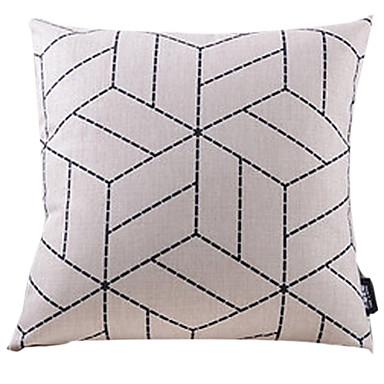 1 buc Bumbac/In Față de pernă,Geometric Modern/Contemporan