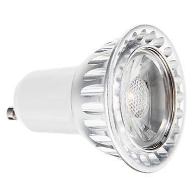 3.5W 300-400 lm GU10 Точечное LED освещение 1 светодиоды COB Диммируемая Декоративная Тёплый белый AC 220-240V