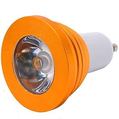 YWXLIGHT® 200-300 lm GU10 LED Spot Lampen 1 Leds Hochleistungs - LED Ferngesteuert RGB Wechselstrom 85-265V