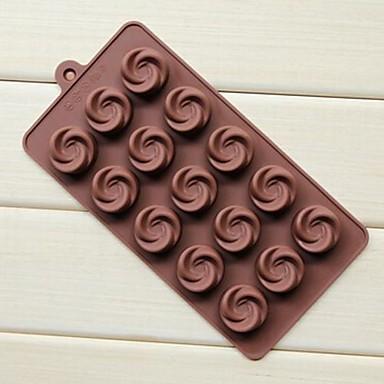 bakvorm Bloem Ijs Chocolade Cake Siliconen Milieuvriendelijk DHZ Anti-aanbak
