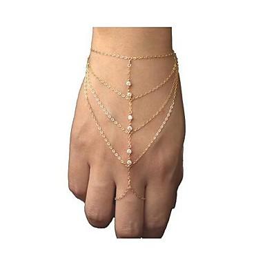 Pentru femei Ring Bracelets Modă European stil minimalist Ștras Aliaj Bijuterii Bijuterii Cadouri de Crăciun Petrecere Zilnic Casual