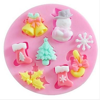 coacere Mold Plăcintă Biscuiți Tort Silicon Ecologic Reparații Crăciun