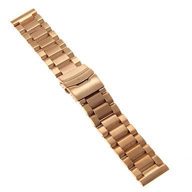 Heren Dames Horlogebandjes Roestvast staal #(0.09) #(24 x 2.4 x 0.3) Horlogeaccessoires