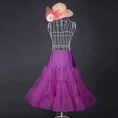 Clasic/Traditional Lolita Inspirație Vintage Pentru femei Fustă Cosplay Roz Negru Albastru Mov Roșu