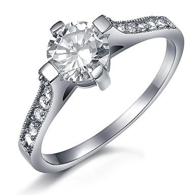 Жен. Кольцо Титановая сталь Мода Свадьба Для вечеринок Повседневные Бижутерия