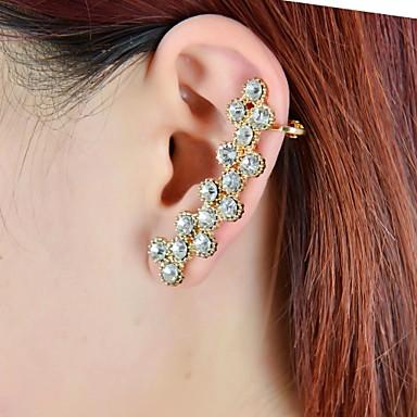Cătușe pentru urechi bijuterii de lux Ștras imitație de diamant Aliaj Bijuterii Pentru Nuntă Petrecere Zilnic Casual Sport