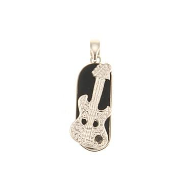 ZP 64GB USB-Stick USB-Festplatte USB 2.0 Kunststoff Musik Instrumente Rotierend guitar