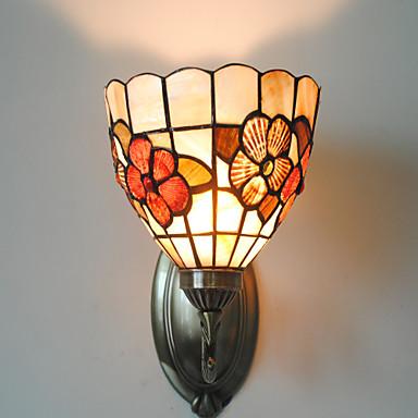ILLZACH - Lampe Murale Tiffany Florale