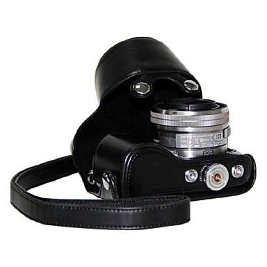 pajiatu® PU aparat de fotografiat ulei de piele piele caz de protecție pentru lentile de 16-50mm Sony NEX-5r nex-5T nex-5tl nex-5RL