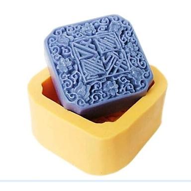 moon, aducător de noroc tort tort fondant rășină de ciocolată bomboane de silicon mucegai, l7cm * w7cm * h3.2cm