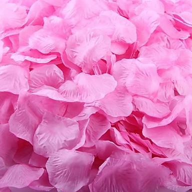 100pcs petale roz petale de trandafir roz pentru vacanță, nunta, decoratiuni de partid