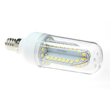E12 LED лампы типа Корн T 84 SMD 2835 500 lm Тёплый белый AC 85-265 V