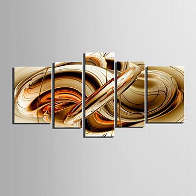 panza Set AbstractCinci Panouri Orizontal print Arta Decor de perete For Pagina de decorare