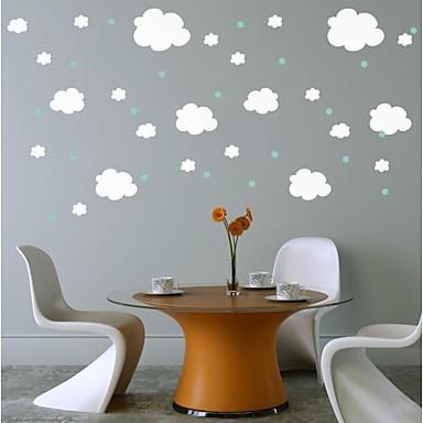 Dekorative Wand Sticker - Flugzeug-Wand Sticker Abstrakt Stillleben Formen Cartoon Design Fantasie Jungen Zimmer Mädchen Zimmer