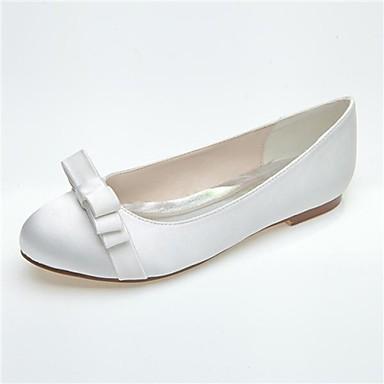 Dame - Pantofi de nunta - Vârf Rotund - Pantofi Fără Toc - Nuntă / Party & Seară -Negru / Albastru / Roz / Violet / Fildeș / Alb /