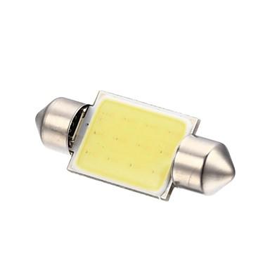 Festoon Mașină Alb 2W COB 6000-6500Lumini de instrumente Lumini de citit Lumini pentru numerele de înmatriculare Lumini de semnalizare