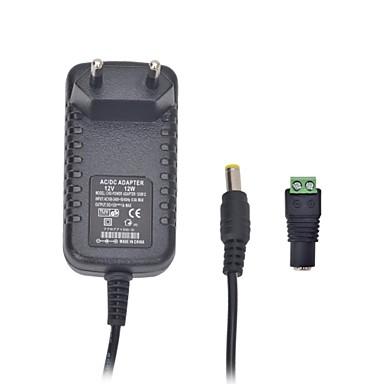 xinyuanyang® 12W 12V 1a adaptor eu de ca pentru bec a condus și camera de securitate de supraveghere (100 ~ 240 V)