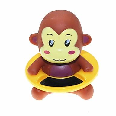 stil maimuță drăguț termometru de apă cadă de baie bebelusului