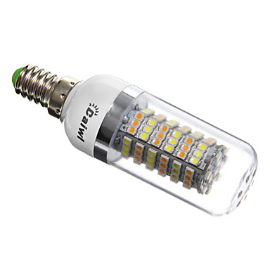E14 G9 GU10 E26/E27 LED Λάμπες Καλαμπόκι T 120 SMD 3528 420 lm Φυσικό Λευκό AC 220-240 V