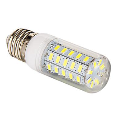 3.5W 300-350lm E26 / E27 LED-maïslampen T 48 LED-kralen SMD 5730 Natuurlijk wit 220-240V