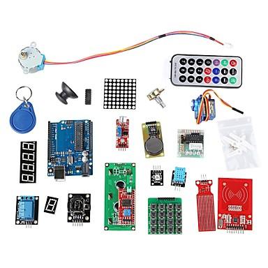RFID-System Lern Kit w / uno r3 Schrittmotor RFID-Modul RFID-IC-Karte RFID-IC-Schlüsselanhänger für Arduino basiert
