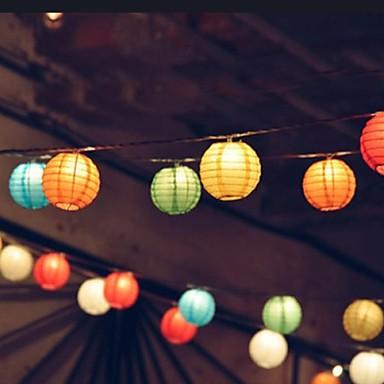 10 LEDs Koel wit Oplaadbaar / Decoratief 85-265V