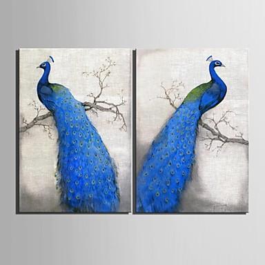 Животные 2 панели Вертикальная С картинкой Декор стены Украшение дома