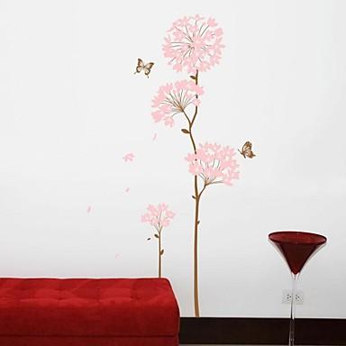 Stillleben Mode Formen Blumen Retro Botanisch Wand-Sticker Flugzeug-Wand Sticker Dekorative Wand Sticker, Vinyl Haus Dekoration Wandtattoo