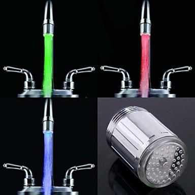 leuchtenden glow-up-led-wasserhahn wasserhahn duschkopf wasser düse kopf licht bad küchenarmaturen