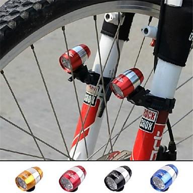 Frontale Iluminat Bicicletă Față lumini de securitate Laser Ciclism Focalizare Ajustabilă buton baterie 18650 Lumeni Baterie