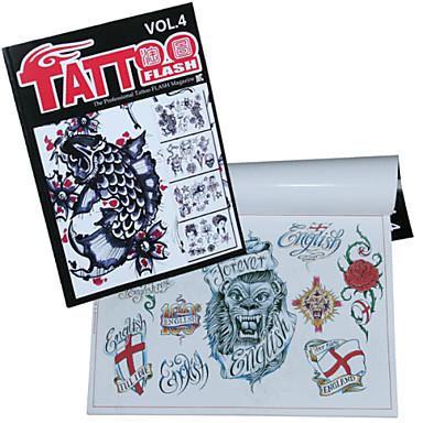 speziellen Muster Tattoo-Musterbuch