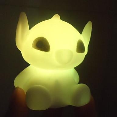 1pc LED-Nachtlicht Batterie Wasserfest
