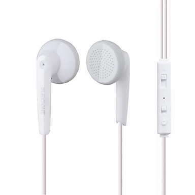 Plextone EARBUD Проводное Наушники пластик Мобильный телефон наушник С регулятором громкости / С микрофоном наушники