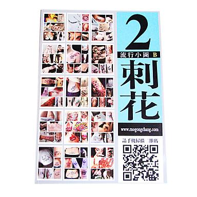 modische Muster Tattoo Buch
