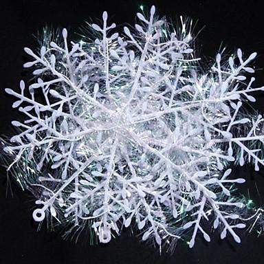 Christmas Decorations Ornamente de Brad de Crăciun Jucarii Fulg 6 Bucăți