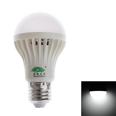 5W E26/E27 Круглые LED лампы A70 10 SMD 5730 480-500 lm Естественный белый Декоративная AC 100-240 V
