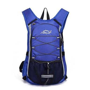 hesapli Bisiklet Çantaları-12 L Sırt Çantaları Bisiklet Sırt Çantası Gym Çanta / Yoga Çantası Nefes alabilen kayışlar - Nemgeçirmez Hızlı Kuruma Toz Geçirmez Aşınma direnci Açık hava Yüzme Kamp & Yürüyüş Balıkçılık Polyester