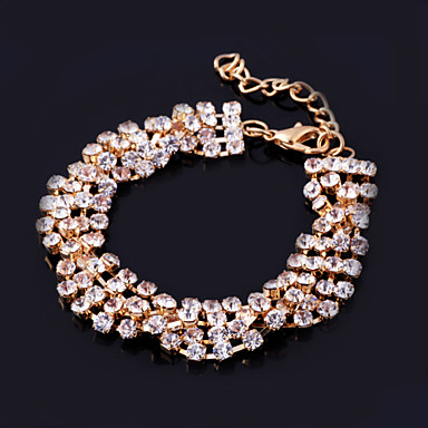 Women's Rhinestone Alloy Jewelry Wedding Party Special Occasion Anniversary Birthday Engagement Gift Daily Casual Office & Career Outdoor
