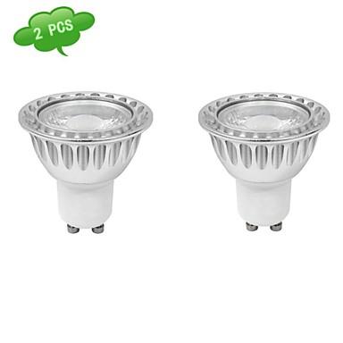 630 lm GU10 Spoturi LED MR16 1 led-uri COB Intensitate Luminoasă Reglabilă Alb Rece AC 220-240V
