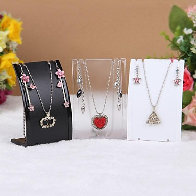 voordelige Dames Sieraden-epäsäännöllinen Juwelenstandaarden - Hars Modieus Transparant, Zwart, Wit 7 cm 4 cm 11 cm / Dames