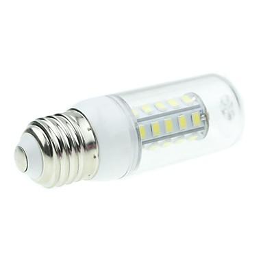 SENCART 5W 450-500lm E26 / E27 LED-kornpærer T 36 LED perler SMD 5730 Naturlig hvit 12V