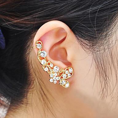Cătușe pentru urechi Ștras Aliaj Argintiu Auriu Bijuterii Pentru Petrecere Zilnic