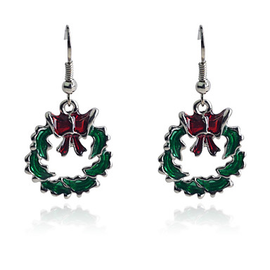 Dames Druppel oorbellen Modieus Legering Rond Sieraden Dagelijks Kostuum juwelen
