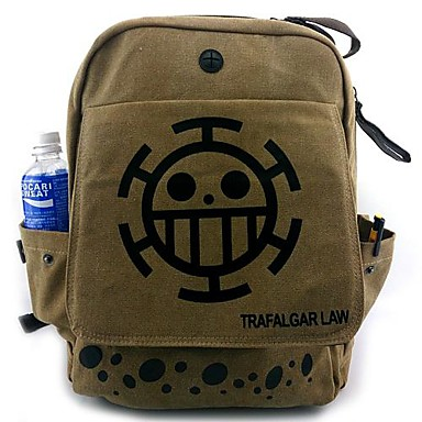 Tasche Inspiriert von One Piece Cosplay Anime Cosplay Accessoires Tasche Rucksack Segeltuch Nylon Herrn neu