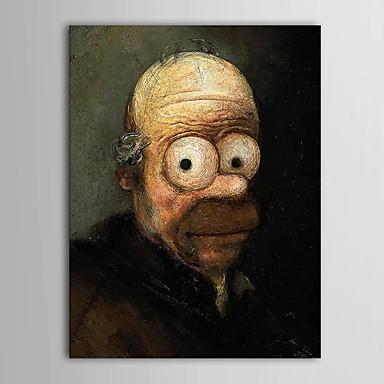 Hang-роспись маслом Ручная роспись - Известные картины Классика холст