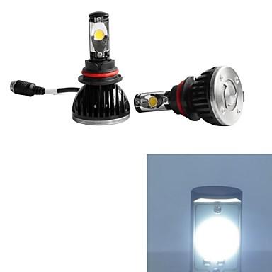 2pcs 9004 Bil Elpærer 30W 2200-5200lm 2 Arbeidslampe / Tåkelys
