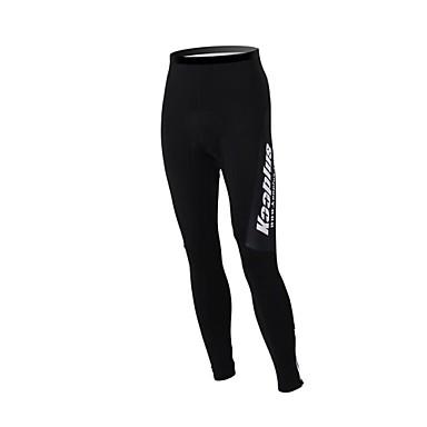 Kooplus Pantaloni Cycling Pentru femei Pentru bărbați Unisex Bicicletă PantaloniRespirabil Keep Warm Fermoar Impermeabil Purtabil Dungi
